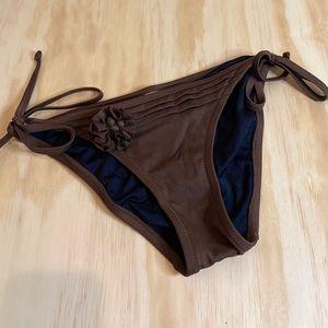 J. Crew Brown Bikini Bottoms